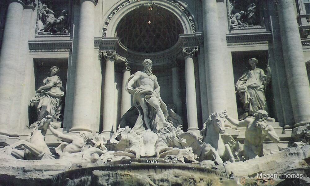 Trevi Fountain by Megan Thomas