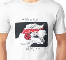 Rockabilly Alpaca, from the Camelid scene  Unisex T-Shirt