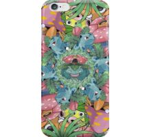 Grass Type Pokémon Collage iPhone Case/Skin