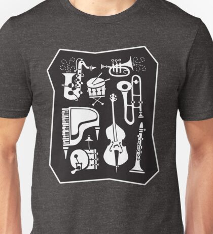Be Bop Jazz Jam Session, Daddy-O! Unisex T-Shirt