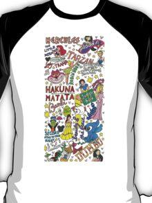 Disney Collage Art T-Shirt