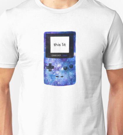 lit game boy color Unisex T-Shirt