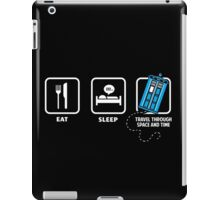 Eat, Sleep, Who iPad Case/Skin