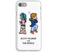 Scott And Ramona — Pixels iPhone Case/Skin