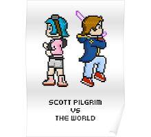 Scott And Ramona — Pixels Poster