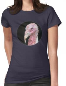 Turkey / Pute Womens Fitted T-Shirt