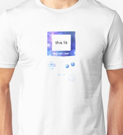 this game boy is lit Unisex T-Shirt