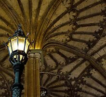 Great Hall Staircase Light by Mark Wilson