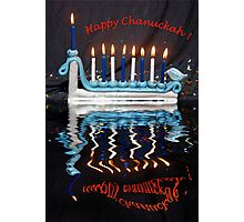 Happy Chanuckah Photographic Print