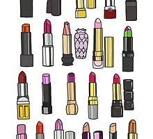 Your favorite lipstick collection by uzualsunday