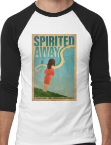 Spirited Away Men's Baseball ¾ T-Shirt