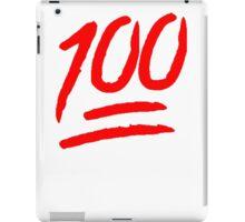 100 [Red] iPad Case/Skin