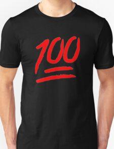 100 [Red] Unisex T-Shirt