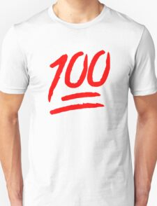 100 [Red] Unisex T-Shirt
