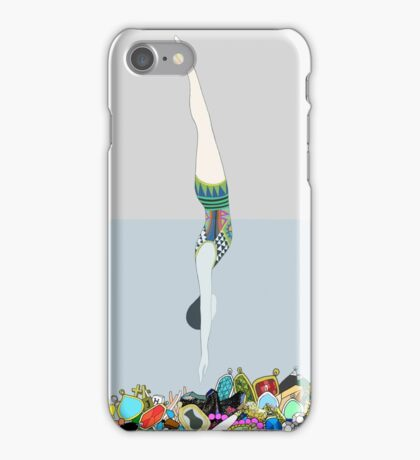 Diving into Jewelries iPhone Case/Skin