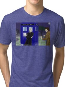The big bad who? Tri-blend T-Shirt