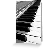 Endless Keyboard 1 Greeting Card