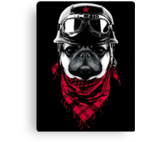 Adventurer Pug Canvas Print