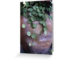 Beauty in Terra Cotta Greeting Card