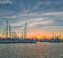 Sunrise over the Bay  by Tod and Cynthia Grubbs