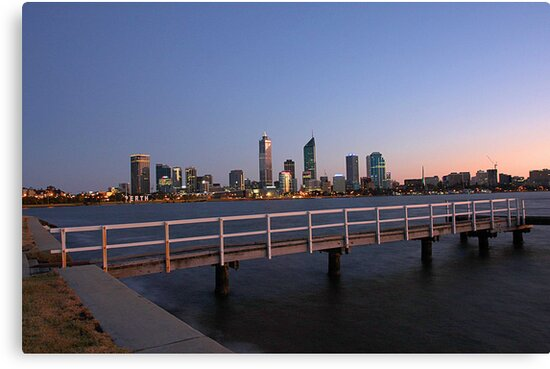 Perth At Dawn by EOS20