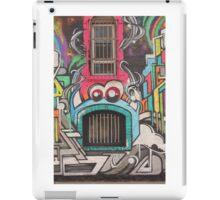Window teeth cork street art iPad Case/Skin