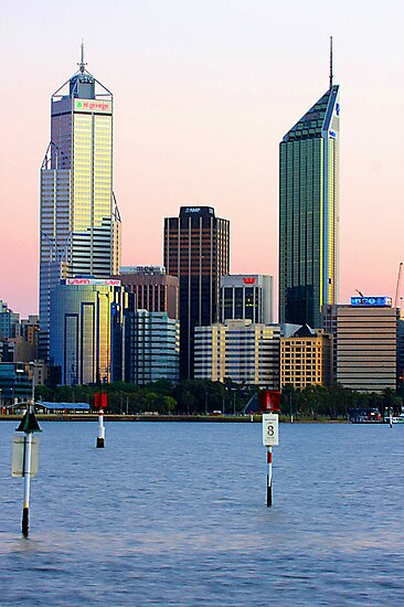 Perth Towers At Sunrise  by EOS20