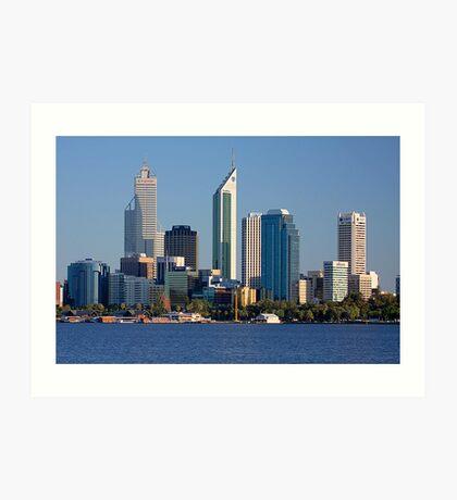 Perth - Western Australia  Art Print