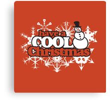 Cool Christmas Canvas Print
