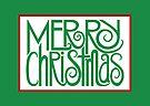Merry Christmas Green by Mariana Musa