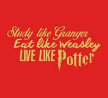 Live Like Potter! by Loftworks