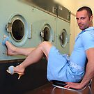 Laundry Day (I lost my shorts...) by Tee Brain Creative
