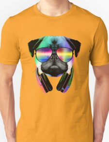 Music Love Pug Unisex T-Shirt