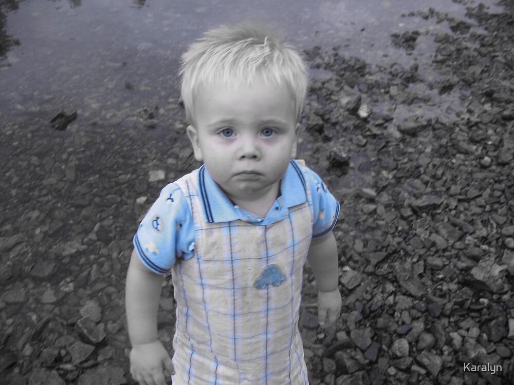 Sad Baby by Karalyn