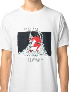 Glam Llama, from the Camelid Scene Classic T-Shirt