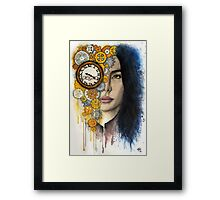Time Will Tell Framed Print