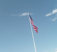 Look up to the flag by Aurora