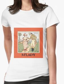 Vintage M'lady Womens Fitted T-Shirt