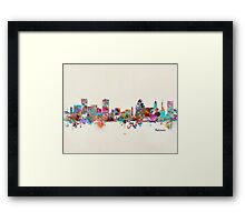 Baltimore Maryland Framed Print