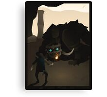 Shadow of the Colossus - Celosia Canvas Print