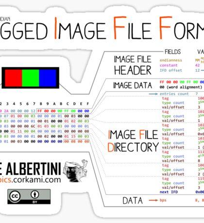 .TIFF : Tagged Image File Format (big endian) Sticker