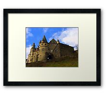 Schloss Buerresheim Framed Print
