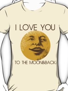 Vintage moon love T-Shirt