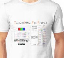 .TIFF : Tagged Image File Format (little endian) Unisex T-Shirt