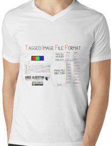 .TIFF : Tagged Image File Format (little endian) Mens V-Neck T-Shirt