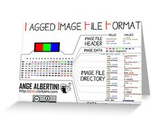 .TIFF : Tagged Image File Format (little endian) Greeting Card