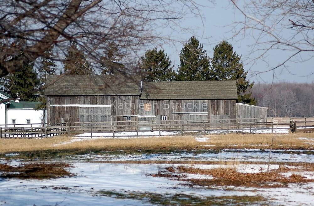 Old Barn by Kathleen Struckle