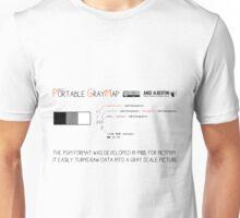 .PGM: Portable Graymap Unisex T-Shirt