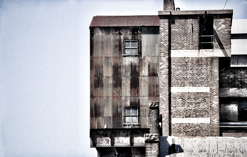 Suburban Industrial by Sarah Moore