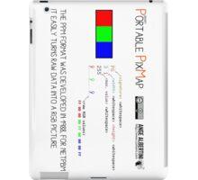 .PPM: Portable Pixmap iPad Case/Skin